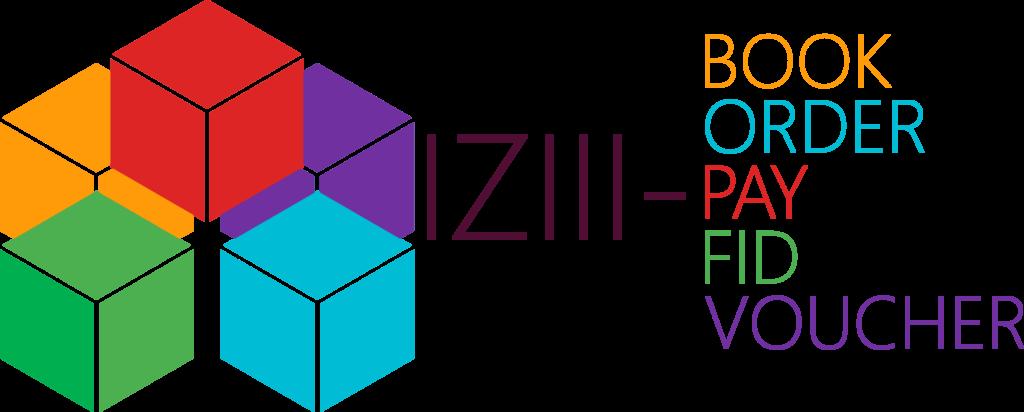 Logo IZIII PAY - ORDER - FID - BOOK - VOUCHER